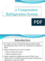 Vapor Compression Refrigeration System 1