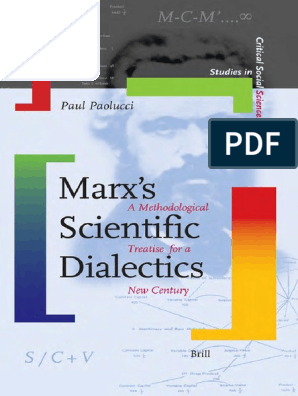 Studies In Critical Social Sciences Paul Paolucci Marxs