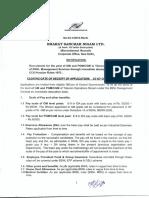 GM PGM CGM Recttnotification BSNL