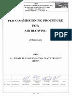 Air Blowing HSE Standard