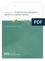 Integration of Chemical and Radiological Sensors in a Tactical Network