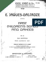 Dalcroze songs