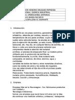 173684394 Informe Visita Tecnica de La Ladrillera El Diamante
