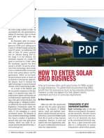How to Enter Solar Grid Business
