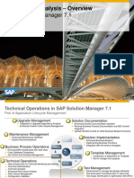 Root Cause Analysis – Overview SAP Solution Manager 7.1