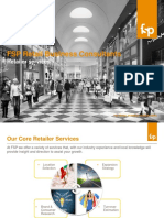 FSP core retailer services - Site Selection Support, Benchmarking and Location Strategy