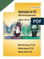 CFD_Optimisation