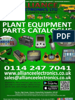 Alliance Electronics Ltd Plant Equipment Parts Catalogue 2018