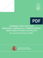 Jurisdiccion Militar Riesgos Laborales
