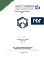 Laporan Praktikum PLC 1 - Reza Maliki Ak