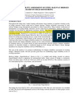 Fatigue Reliability Assessment of Steel Railway Bridges Based on Field Monitoring