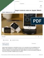 Apple Maps se integra todavía más en Apple Watch con watchOS 2.2