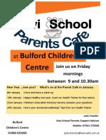 Parents Cafe Jan 2016