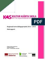 Slutrapport Kultur Hjärta Skola