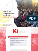 The IARS International Institute Impact Repoert