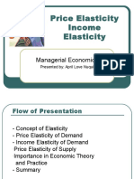 Elasticity MBA