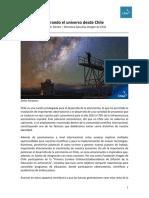 Mirando El Universo Desde Chile