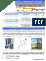 SOLARTEC Catalogo Generadores Para Electrificadores Precios Publico 02-09-2'014