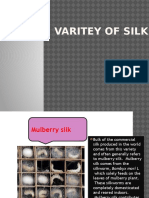 Varitey of Silk