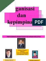 Kepimpinan Dan Organisasi