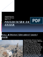 Presentation on Saudi Arabia