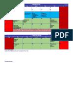Calendar Sesiune Iarna Sf