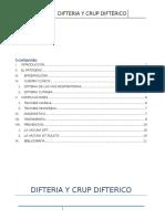 Difteria y Crup