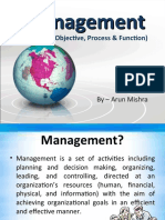 Management - Introduction