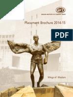 IIFT Corporate Placement Brochure 2014-15