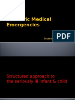 1) Approach to Serious Ill Child