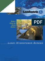 Landy Hydropower Screws