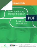 ESMO ACF Leucemia Mieloida Cronica Ghid Pentru Pacienti