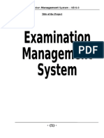 Visual Basic Project in Examination Management System