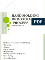 Hand Molding Demonstration Process