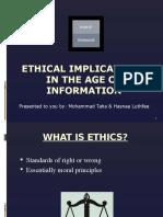 taha luthfee ethicalimplicationintheageofinformation