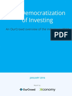 Democratization of Investing OurCrowd Xconomy Report 2015 (1)