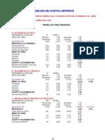Costos Unitarios Parrilla 916