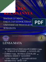 Kuliah 5 Lensa Dan Kelainannya