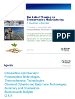 PDF Presentation Latest Thinking Biorenewables Manufacturing