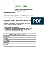 LEAN Diagnostico Excel