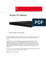 Caracteristicas Tip Gateway