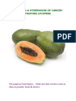 PAPAYA IS A STOREHOUSE OF CANCER.docx