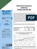 Short-term business statistics Turkey and the EU