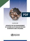 Update Management Malnutrition Who