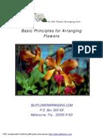 Basic Principles for Arranging Flowers