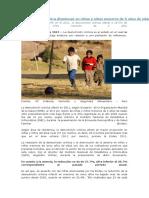 Anemia en Niñas y Niños Menores de 5 Años de Edad