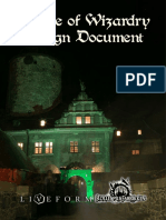 Hp Larp Design Document