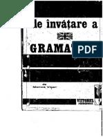 Metoda Rapida de Invatare a Gramaticii Engleze