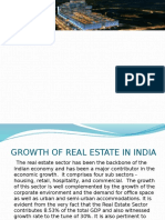 Growth of Real Estate in India (1)