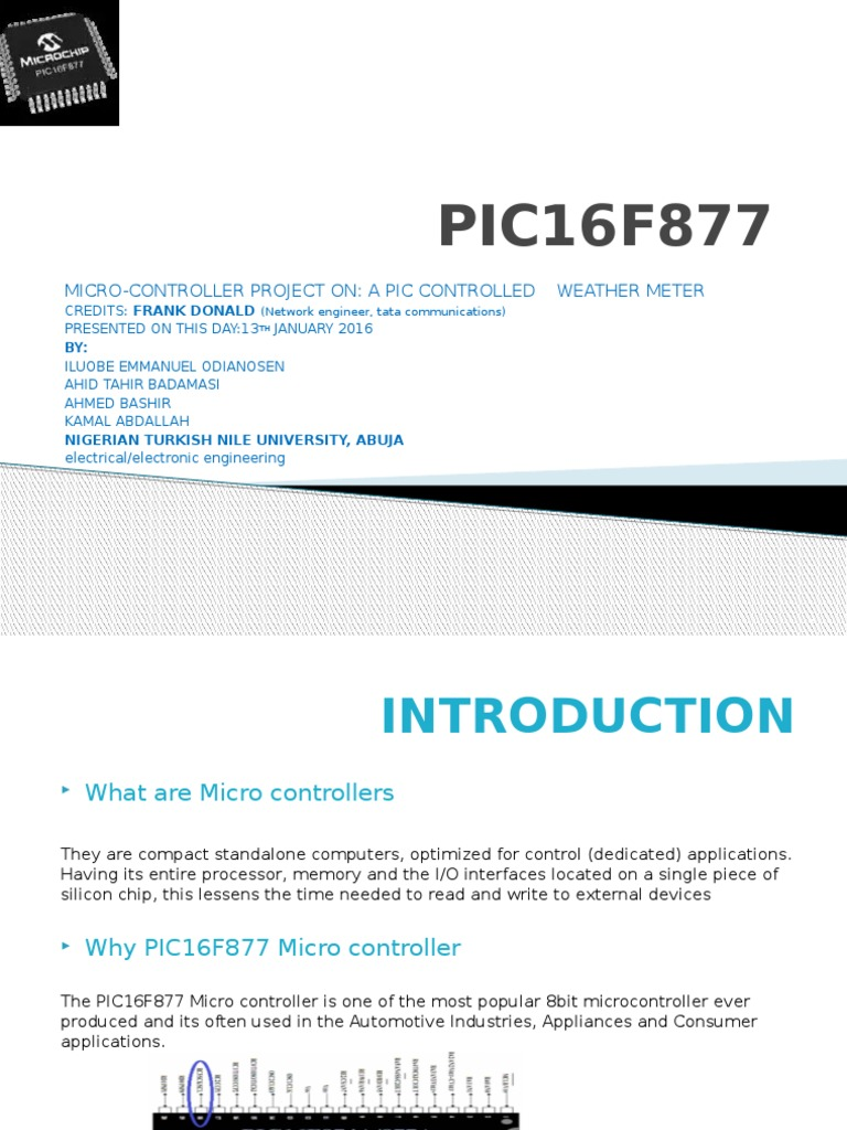 Pic16f877 Grp Microcontroller Pic Lc Meter Based On Pic16f84a
